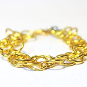 Magic Bracelet, Metallic Gold