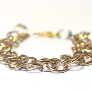 Magic Bracelet, Metallic Light Gold