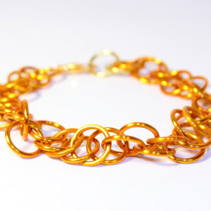 Magic Bracelet, Metallic Orange
