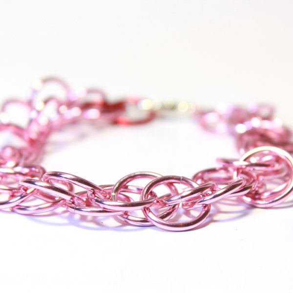 Magic Bracelet, Metallic Pink