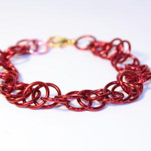 Magic Bracelet, Metallic Red