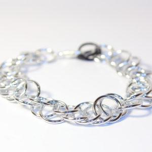 Magic Bracelet, Metallic Silver