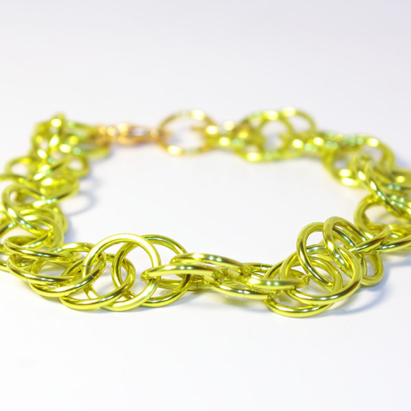 Magic Bracelet, Metallic Yellow
